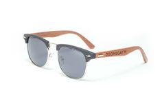 Image of Black rosewood sunglasses