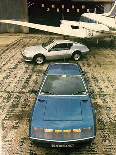 "gashetka: ""1971-1985 | Renault Alpine A310 | Source """