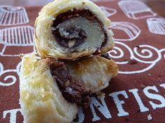 NUTELLA AND TOASTED HAZELNUT RUGELACH (RECIPE): Ooooh, I bet the cream cheese in this recipe makes it extra delicious!