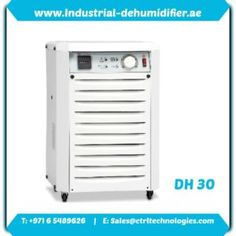 DH 30 by CtrlTech Dehumidifier supplier in UAE. Dehumidification calculation. Dehumidification load in Dubai, UAE.
