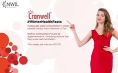 #DYK On an Average 50 cases of Urinary Tract Infections are being seen daily in cities during #Winter.  #UTI #Women #Health #NWIL