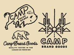 New artwork for Camp Brand Goods, see attachment for detail.