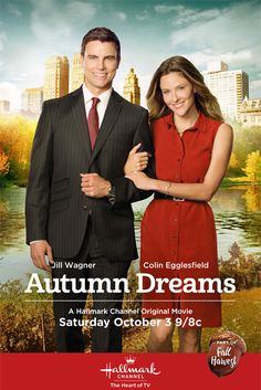 """Its a Wonderful Movie - Your Guide to Family Movies on TV: Hallmark Movie """"Autumn Dreams"""" starring Jill Wagner & Colin Egglesfield"""