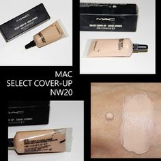 MichelaIsMyName: MAC SELECT COVER-UP NW20 REVIEW
