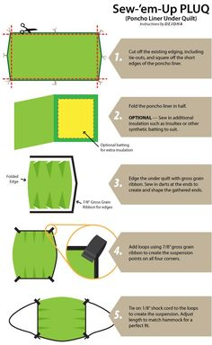 How+to+make+a+DIY+Poncho+liner+underquilt+for+a+camping+hammock:+MYOG