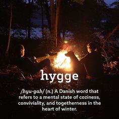 Let's all take a hint from This Danish tradition and embrace winter. What does it mean to you? #hygge #winter #outdoors