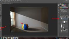 creating a shadow in photoshop... much easier to get it right when you take the picture.