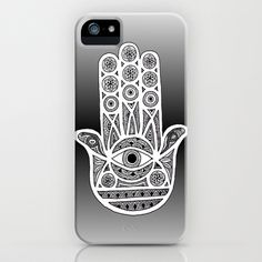 Hamsa Hand iPhone & iPod Case