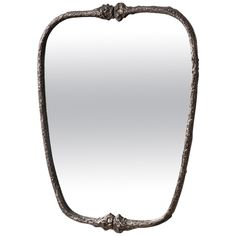 Ice-Cast Mirror Number One by Steven Haulenbeek | See more antique and modern Wall Mirrors at https://www.1stdibs.com/furniture/mirrors/wall-mirrors