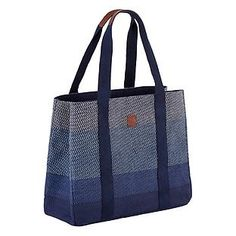 Blue Chevron Tote by Umbra®