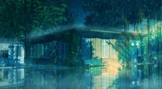 Rainy day by arsenixc