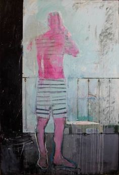 "Saatchi Art Artist christos tsimaris; Painting, ""call"" #art"