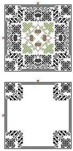 Boutique de la Brodeuse Bressane: Biscornu Autumn - design