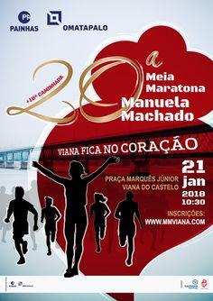 Meia Maratona Manuela Machado – Viana Fica no Coração | Mini Maratona | Caminhada | 2018 | Viana do Castelo
