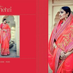 Weddings saree collection  Catlog name - Suhani vol -3.  Fabric details above mentioned  Rate. - best selling price for single & multiple   Call & whatup 📞 +91-9413880140  And see more collection of ladies suit,saree, kurti,lengha and other collections of ladies  on  my Facebook page https://www.facebook.com/Fashion-fab-1450544898577078/  Thanks again for your help and support chhaiye