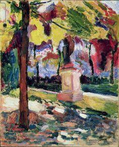 Matisse, Henri (1869-1954) Jardin du Luxembourg, 1904 (oil on canvas)