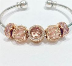 When you read the slogan of Pandora Jewelry you can read that this brand represents exclusive and timeless . Pandora Open Bangle, Pandora Bangle Bracelet, Pandora Style Charms, Pandora Jewelry, Charm Jewelry, Jewelry Art, Vintage Jewelry, Women Jewelry, Jewlery