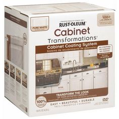 Rust-Oleum Cabinet Transformations Small Pure White Coating Kit