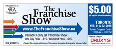 Thank you!   The Franchise Show produced by Canadian Franchise Association   Canadian Franchise Association