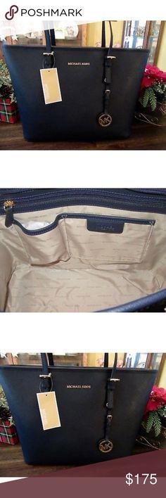 Original Michael Kors purse Navy color It's brand new item never been used Michael Kors Bags Shoulder Bags