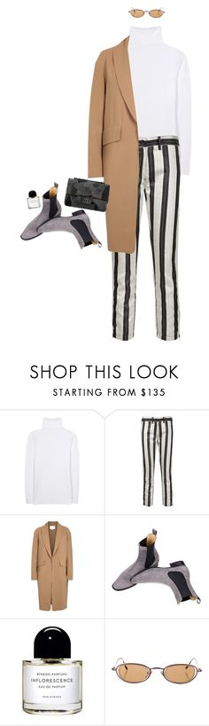 """#530"" by moofka ❤ liked on Polyvore featuring The Row, Ann Demeulemeester, Alexander Wang, Chanel and Byredo"
