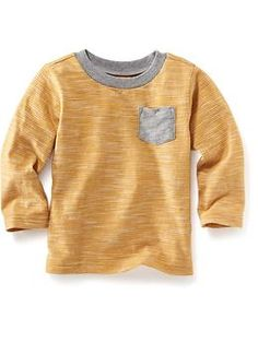 Striped Pocket Tee for Baby | Old Navy