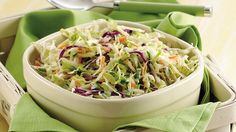 Turn ready-made coleslaw into a special salad with fresh shredded veggies and a quick mayo and celery seed dressing.