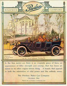 Vintage Peerless 48 Ad - 1912
