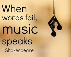 William Shakespeare quotes: When Words fail, Music Speaks ~ By William Shakespeare… William Shakespeare, Citation Shakespeare, Shakespeare Love Quotes, Shakespeare Life, Shakespeare Quotes Tattoos, True Quotes, Great Quotes, Quotes Quotes, Simple Quotes