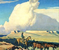 """Maynard Dixon. Who interests me as the husband of Dorthea Lange. Love """"Child of Giants"""" documentary."""
