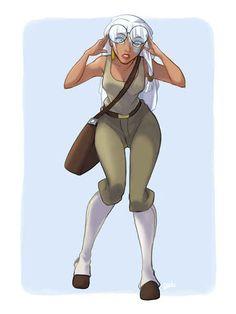 Kida as Milo. - Atlantis: The Lost Empire | 13 Disney Heroines Swap Clothes With Their Heroes