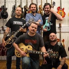 """""""Happy to have @torche_band swing through the shop before their show tonight at the @emptybottle with Melt-Banana. To see whether or not they actually rock a Hofner Shorty ON STAGE, head to their show in Chicago! #chicagomusicexchange #chicagomusicscene #meltbanana #emptybottle #theemptybottle #gearacquisitionsyndrome #torche #chicago #band #music"""""""