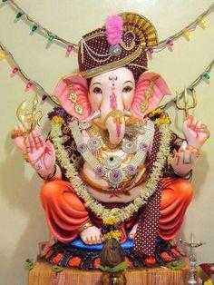 My Friend Ganesha. Jai Ganesh, Ganesh Idol, Shree Ganesh, Lord Ganesha, Lord Krishna, Lord Shiva, Ganesh Chaturthi Quotes, Om Gam Ganapataye Namaha, Ganesh Wallpaper