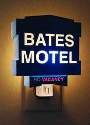 Psycho - Bates Motel Sign Night Light