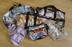 lesportsac Cheerful and Bright LeSportsac Nylon Bags