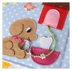 Image result for dog collar quiet book page