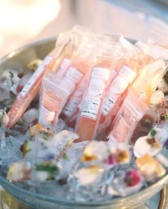 Are you craving something refreshing in this heat? ☀️  These frozen rosè ice pops being served over floral-infused ice are the perfect entrance gift for any event or wedding and will be sure to cool your guests right down on a hot summer day!✨  Photography: @lisaziesing @abbyjiu Popsicles: @roseseason @frutapop #stewartbrownevents #extraordinaryevents #itsallinthedetail #partiesbysbe Post Wedding, Dream Wedding, Wedding Ideas, Frozen Rose, Frozen Wedding, Late Summer Weddings, Floral Event Design, Ice Pops, Served Up