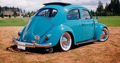 58' Volkswagen Beetle Ragtop #vehiclepursuit