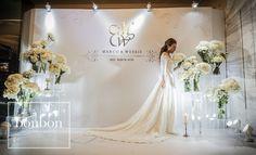 DSC01172-3-01 | 薇 鼎 方 | Flickr Floral Wedding Decorations, Backdrop Decorations, Decoration Party, Wedding Photo Walls, Wedding Photos, Lilac Wedding, Elegant Wedding, Photo Booth Backdrop, Photobooth Idea