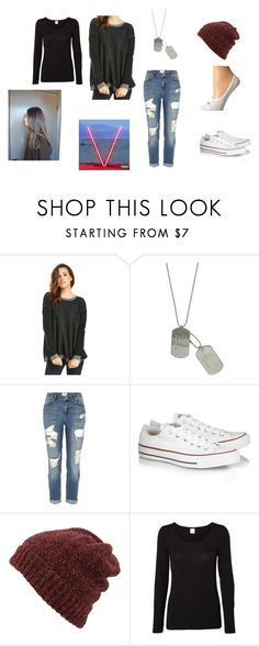 """""""Skylar's Outfit (It's A Hard Knock Life For Us)"""" by laugh416 ❤ liked on Polyvore featuring BB Dakota, River Island, Converse, Inverni, Vero Moda and NIKE"""
