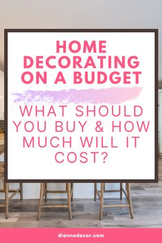 Here's how to design home on a budget. Ideas for decorating your kitchen, bathroom, living room, and bedroom for under $100.    #designhome #homedecorating #roomideas #decoratingideas #roomdesign #decoratingonabudget #homedecoratingguide #decorguide #interiorguide #interiorstyling #homestyling #homedecor Design Your Home, House Design, Rental Home Decor, Informal Dining Rooms, Living Room Decor Inspiration, Small Mirrors, Diy Wall Art, Decorating On A Budget, Interior Styling