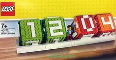 Nouveauté LEGO pour le bureau : 40172 Brick Calendar: Les calendriers perpétuels à base de cubes existent depuis des lustres et n'ont… #LEGO