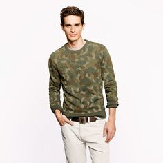 J.Crew - Wallace  Barnes camo sweatshirt