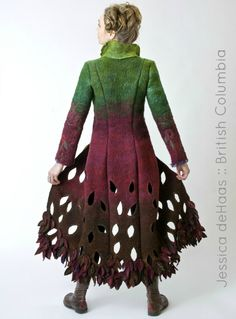 Biodiveristy Jacket by Jessica deHaas of Funk Shui... | Kinfolk Yarn
