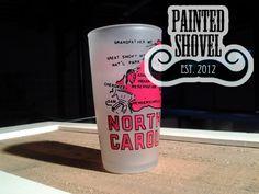 Vintage North Carolina tourism glass for sale at Painted Shovel in Avondale, AL.