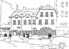 Stig Claesson...motiv från Blekingegatan