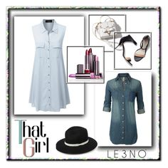 """""""15. Le3noclothing :)"""" by hetkateta ❤ liked on Polyvore featuring LE3NO, 3.1 Phillip Lim and le3noclothing"""