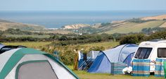 Newperran Holiday Park in Newquay, Cornwall is spacious with countryside and sea views. 5 star camping, touring and static caravan site.