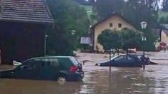 """Video """"Katastrophenalarm in Niederbayern: Amateurvideos zeigen Hochwasser"""""""