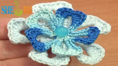 Super Easy Crochet Flower Tutorial 74 Free Crochet Flower Patterns  http://sheruknitting.com/videos-about-knitting/crochet-flower-lessons/item/523-crochet-easy-flower.html Free crochet flower patterns, easy to crochet flower video tutorial, easy to follow crochet flower tutorial, crochet a quick flower with Sheruknittingcom tutorials. This little crochet 5-petal flower takes less then 15 minutes to make. Super easy and quick flower is good for beginners to try.